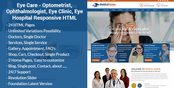 eyecare optometrist eye doctor laser vision ophthalmologist