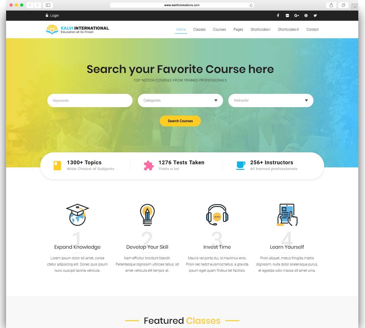 Kalvi Education - LMS Education Theme