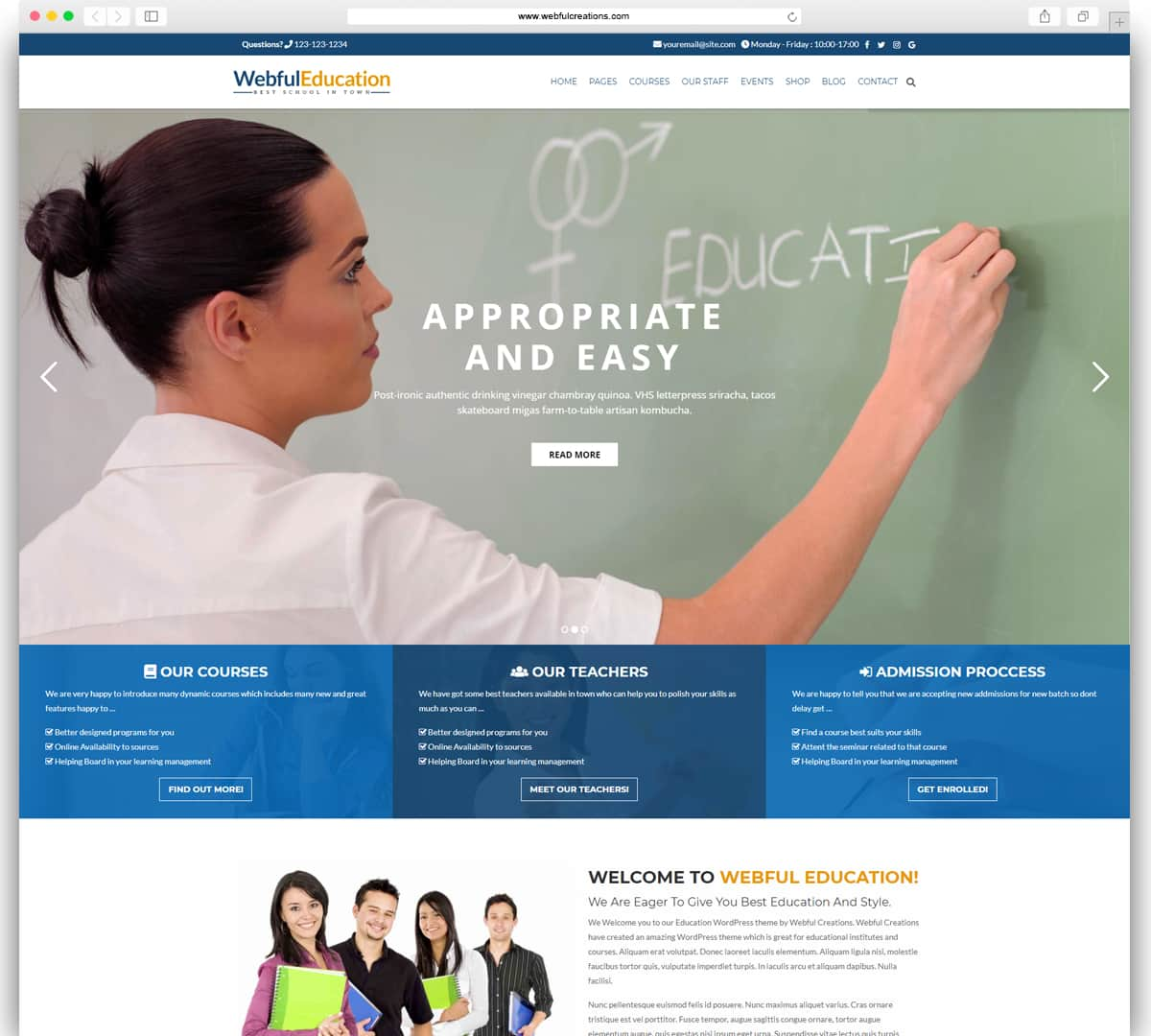 46+ Best Education WordPress Themes 2019