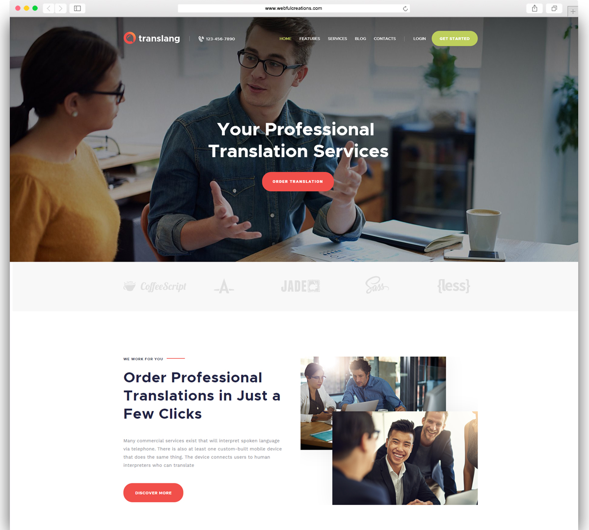 learning institutes education WordPress theme