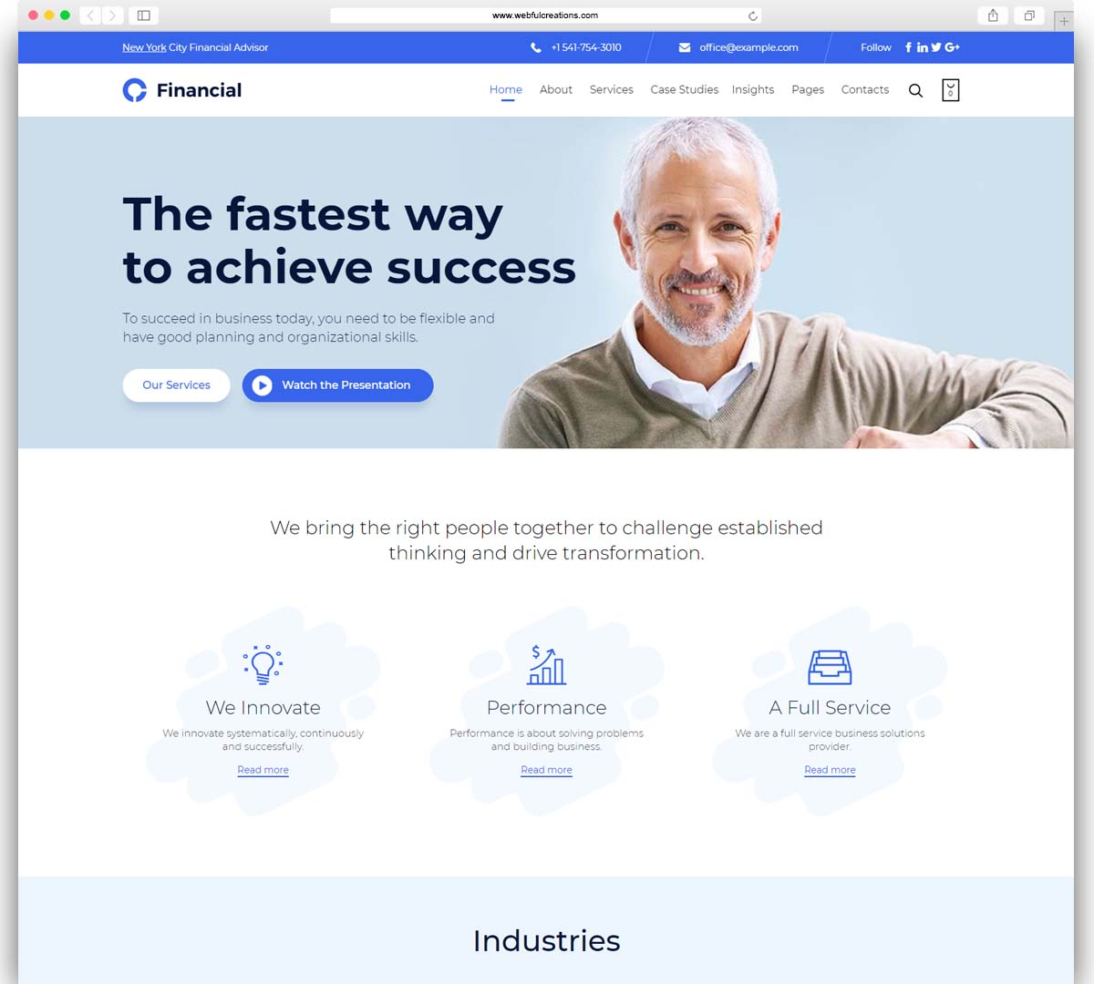 Consultancy - Consulting Finance WordPress