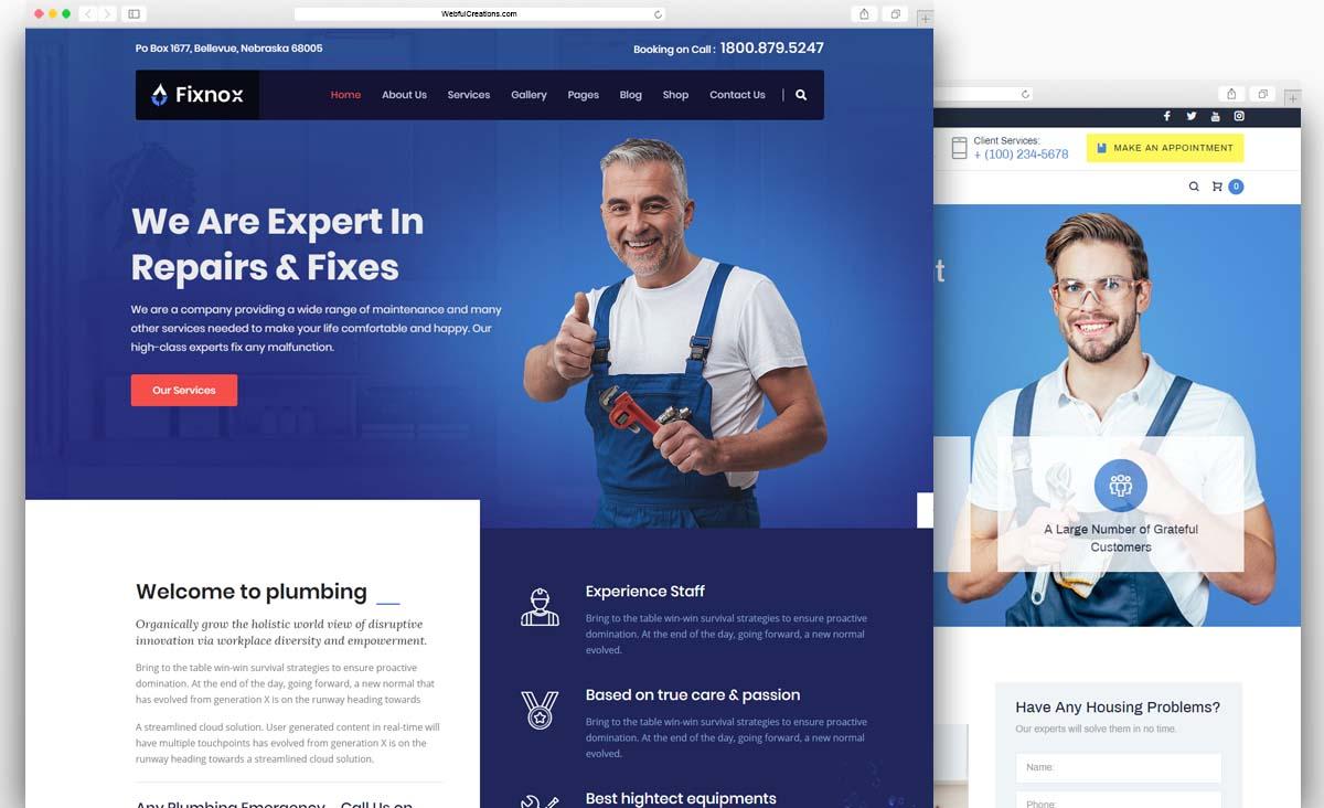 Best Plumbing WordPress Themes