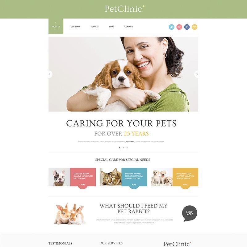 Pet Clnic WordPress Theme