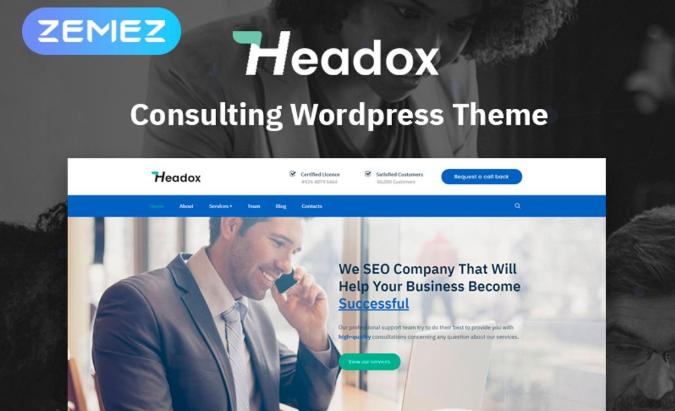Headox WordPress Theme