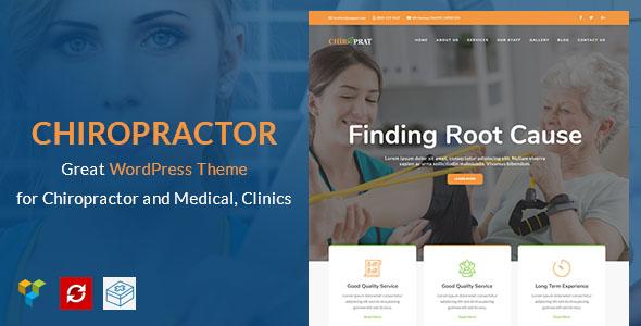 Chiropractor WordPress Theme