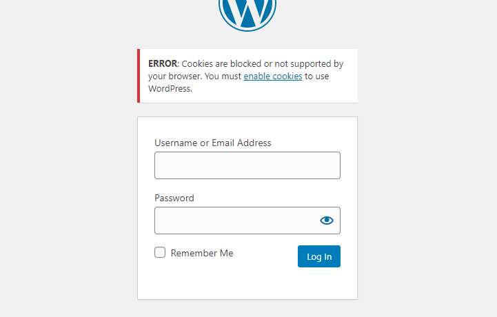 cookies are blocked or not supported by your browser