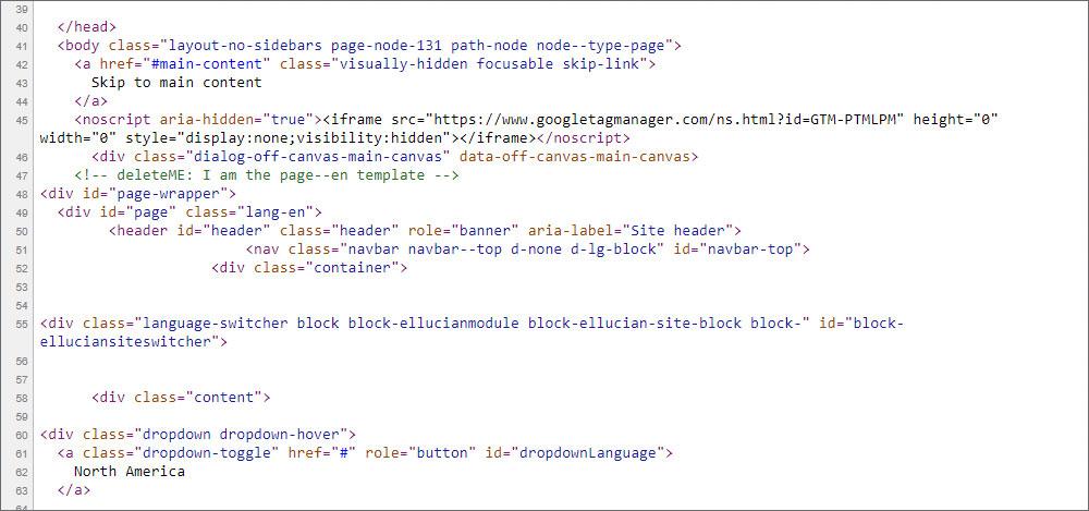 WordPress source code